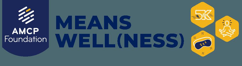AMCP Foundation means wellness logo